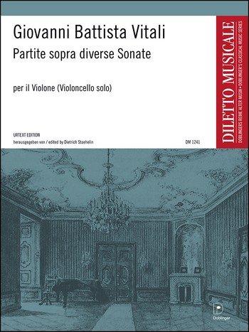Partite sopra diverse Sonate für Violoncello von Giovanni Battista Vitali