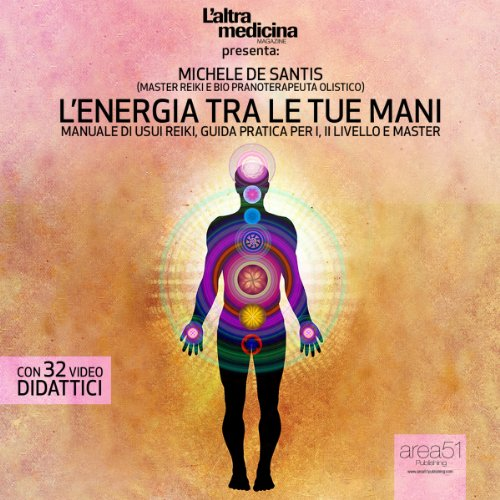 L'energia tra le tue mani audiobook cover art