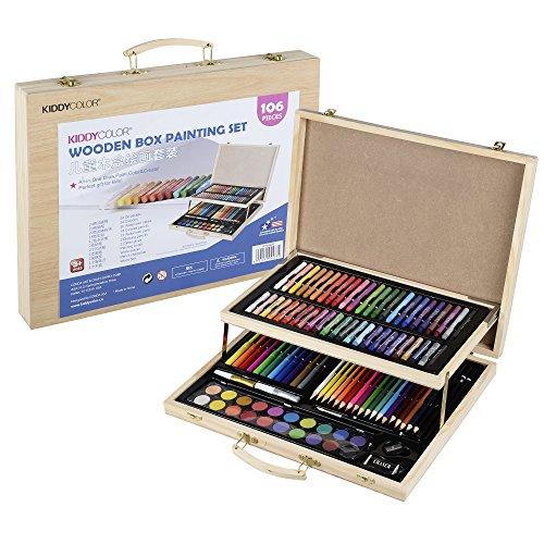 CONDA and Kiddy Color A199626 - Juego de pintura (106 piezas), color natural