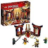 LEGO Ninjago - Duelo en la Sala del Trono, Juguete de Construcción con Minifiguras de Guerreros Ninja para Crear Aventuras para Niños y Niñas de 6 a 14 Años (70651)