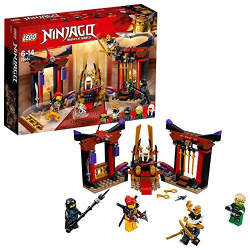 LEGO 70651 Duell im Thronsaal Bunt, Einheitsgröße