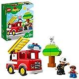 LEGO Duplo Town - Camión de Bomberos, Juguete de construcción de Aventura de Salvamento (10901)