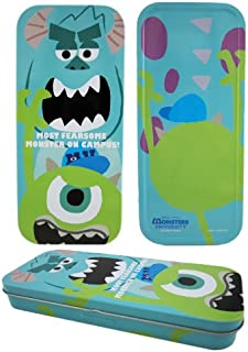 Blue Mike and Sully Monsters University Tin Pencil Box