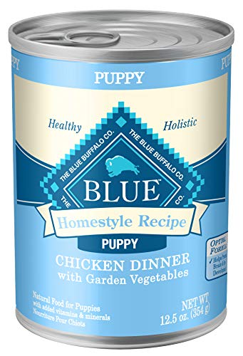 Blue Buffalo Homestyle Recipe Natural Puppy Wet Dog Food