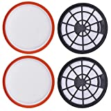 WINWINHOME 2 Pack Type 95 Filters Replacement Pre & Post Motor HEPA Filter Kit Compatible with Vax Air Compact Series Upright Vacuum Cleaners Accessories
