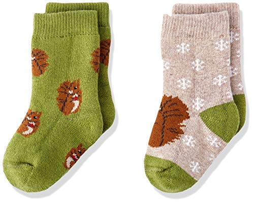 Living Crafts Socken, 2er Pack 15/16, squirrel