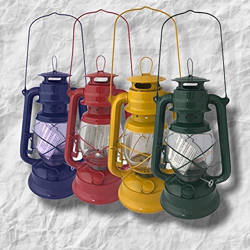 Nostalgie 230mm Petroleumlampe, Windlicht, Sturmlaterne, Öllampe, Laterne für Garten und Camping