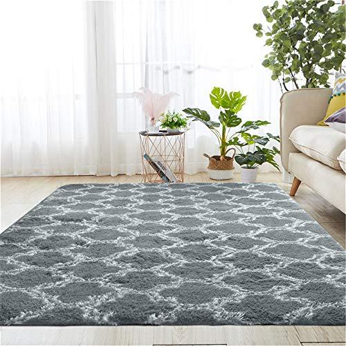 Alfombra minimalista moderna para interior de salón, alfombra de lana, antideslizante, para dormitorio, decoración del hogar, comedor