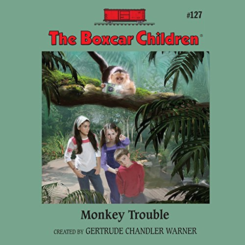 Monkey Trouble audiobook cover art