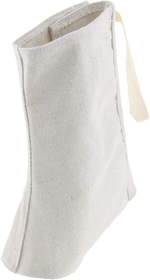 Milageto Salviette Protettive Da 2 Pezzi Copriscarpe Per Scarpe Calzini Coprire I 25 centimetri bianca