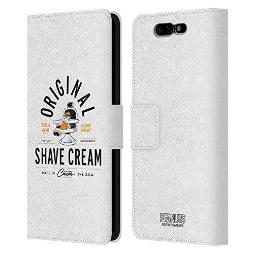 Head Hülle Designs Offizielle Peanuts Snoopy Rasierschaum Chuck's Friseurshop Leder Brieftaschen Handyhülle Hülle Huelle kompatibel mit Xiaomi Black Shark