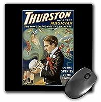 3droseヴィンテージThurston Wonder Show Of The Universe Magicianポスター–マウスパッド、8× 8インチ(MP 114172_ 1)