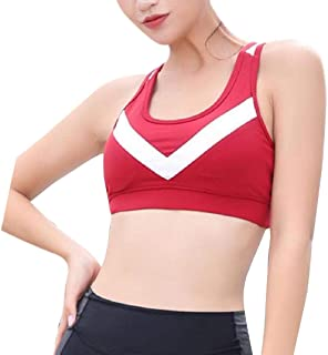 Howme-Women Shockproof Quick Dry Beauty Back Lingerie Patch Activewear Bra