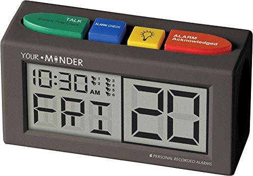 MCS73202 - Your Minder Personal Recording Alarm Clock