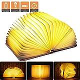Livre Lampe Led Rechargeable Chenci Lampe de Chevet Pliante USB Rechargeable 5...