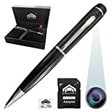 Upgraded Spy Camera Spy Pen Gift Set | Easy to Use Mini Spy Camera Pen 32gb Included | Best Hidden Camera Pen Spy Gear| Spy Pen Camera