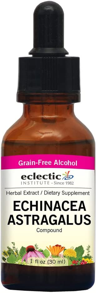 Eclectic Echinacea Astragalus Attention brand Super intense SALE O Ounce Fluid Red 1