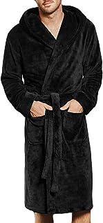 バスローブ BOBOGOJP メンズ 冬 吸水 速乾 保温 暖かい 厚手 ルームウェア シャワーガウン シンプルな 無地 さっぱりしたデザイン 快適 柔らかい 滑らかな スタイリッシュ ポケット 長袖 ローブ S~5XL パジャマ