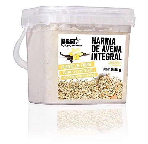 Best Protein Harina de Avena Integral - 1900 gr (Vainilla)