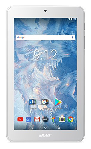 Acer Iconia One 7 B1-7A0 Tablet (MediaTek 8167B Processor, 1 GB RAM, 16GB eMMC, 7 inch Display, Android 7.0, White)