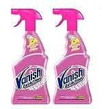 Vanish Oxi Action - Quitamanchas pretratante para Ropa Blanca y de Color, en Spray, sin Lejía - Pack de 2 x 500 ml
