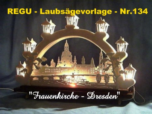 REGU - Laubsäge-Vorlagen Frauenkirche Dresden Nr.134