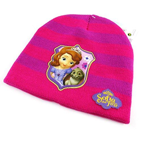 Disney Princesses [L7841] - Bonnet Enfant 'Princesse Sofia' Fuschia Violet