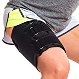 Hamstring Compression Sleeve Recovery Support – Non-Slip Groin Wrap...
