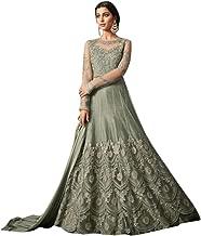 Elegent Net Bollywood Muslim Bridal Anarkali Skirt Pants Style Gown Pakistani Abaya Festive Dress Salwar Kameez Suit 7206