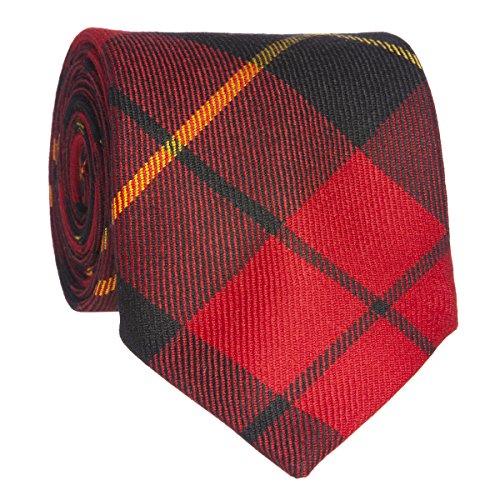 Lochcarron of Scotland Cravate en laine dans Wallace tartan moderne