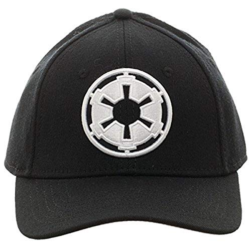 STAR WARS Black Imperial Logo Fitted Cap