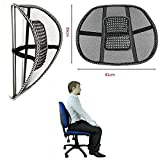 Schienale ergonomico supporto per la fascia lombare bassa auto sedia ufficio sedile poltrona correggi postura lombare - Spedito in Blister senza confezione