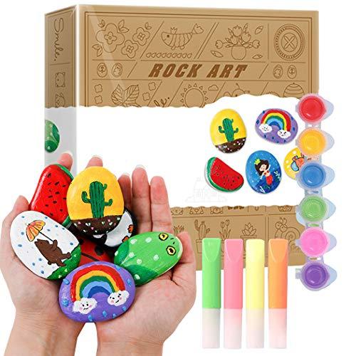 Joyibay Kit De Pintura Rupestre Bricolaje Creativo Kit De Arte Rupestre Juguete De Pintura Juguete Educativo para Niños