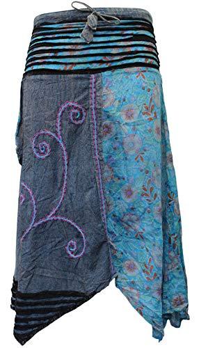 Shopoholic Fashion - Falda suelta, estilo hippie, bohemia
