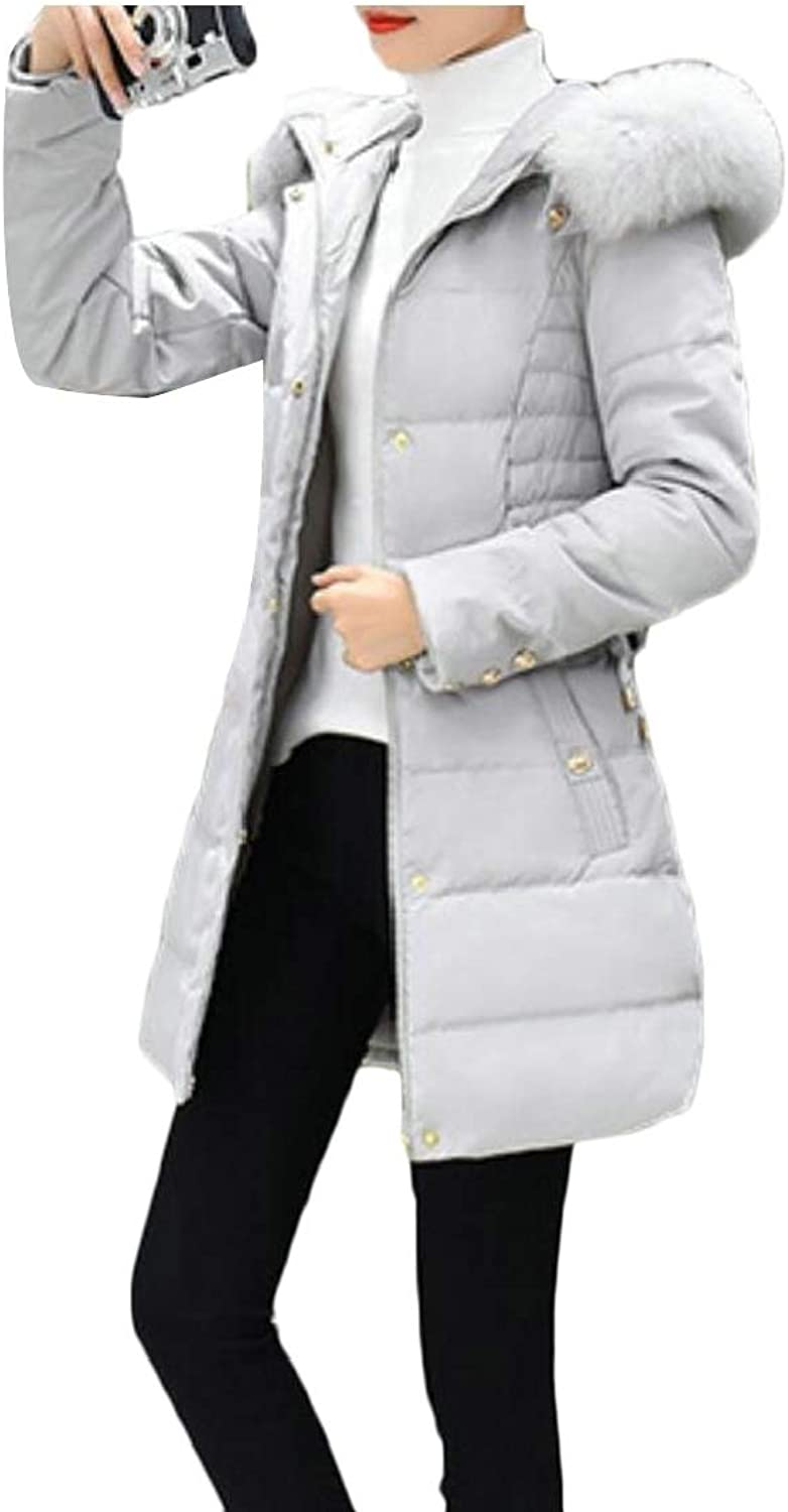 UNINUKOO Unko Womens Hooded Insulated Coat Lightweight Packable Down Jackets