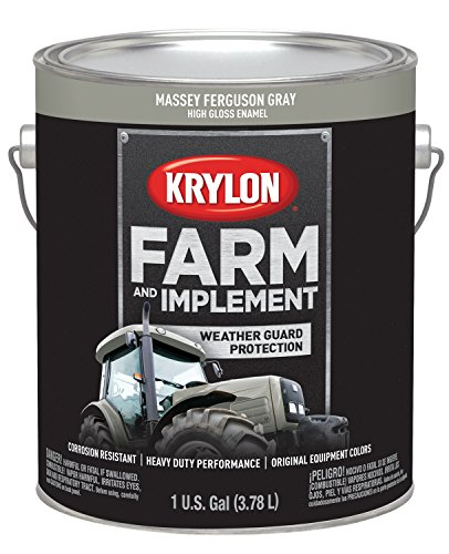 Krylon 1969 Farm & Implement Brush, High Gloss,...