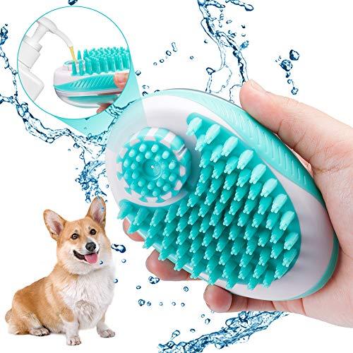 Domipet - Cepillo de masaje para mascotas, cepillo para perros y gatos,...