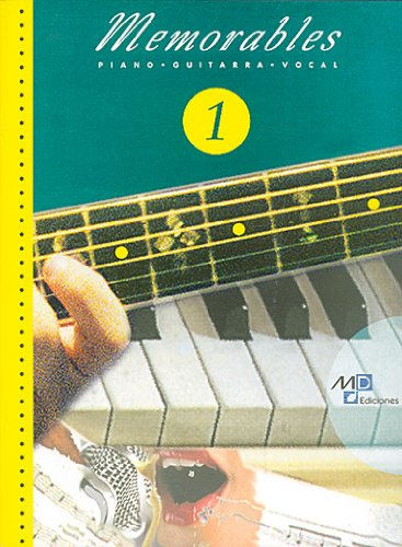 MUSIC DISTRIBUCION MEMORABLES VOL.1 - PVG noten pop, rok, .... piano zang gitaar