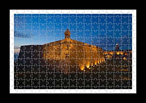 Puzzle stile (preconfigurati) Stampante muro di EL Morro Forte by Lisa Loft