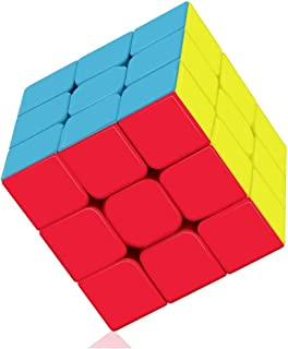 YUNSYE Speed Cube Profession 3x3x3 Speed Cube - Fast Smooth Turning - Solid Durable & Stickerless Frosted, Best 3D Puzzle ...