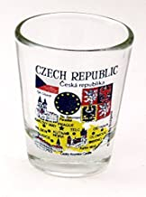 Czech Republic EU Series Landmarks and Icons Shot Glass