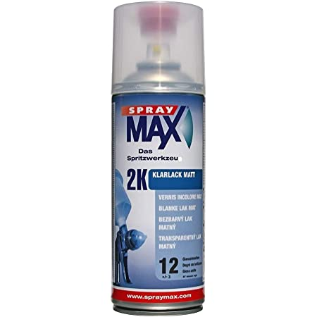 Spray Max Original 2k Klarlack Kratzfest Benzinfest Matt 400 Ml 680065 Auto