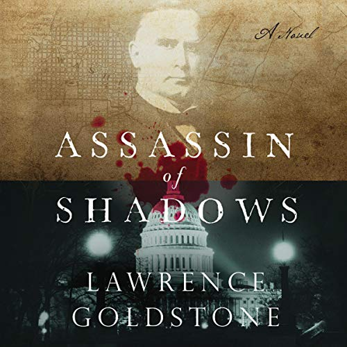 Assassin of Shadows audiobook cover art