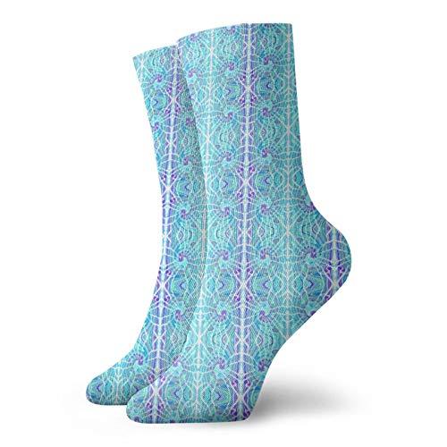 Calcetines de senderismo en espiral cálidos al aire libre para hombre y mujer de 30 cm