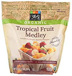 365 Everyday Value, Organic Tropical Fruit Medley, 32 oz, (Frozen)