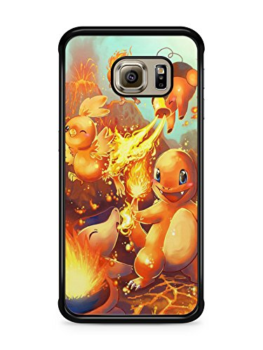Coque Samsung Galaxy S7 EDGE Pokemon go team pokedex Pikachu Manga valor mystic instinct case