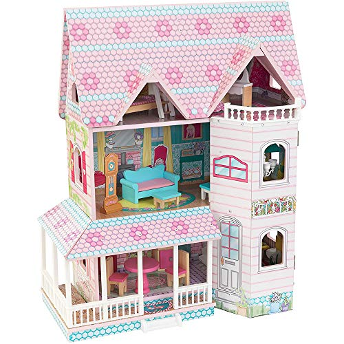 KidKraft キッドクラフト アビー Abbey Manor ドールハウス 3階建て 13cm程の人形に最適!!