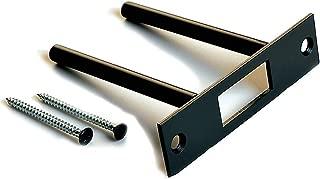 Door Reinforcement | Anti Kick in Secure Door | Deadbolt Strike Plate Reinforcer | Door Security | Two Post Strike Plate (Oil Rubbed Bronze)