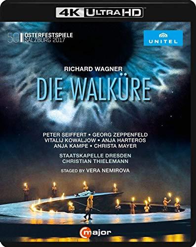 Wagner, R.: Walküre (Die) [Opera] (Salzburg Easter Festival, 2017) (4K Ultra-HD) [Blu-ray]