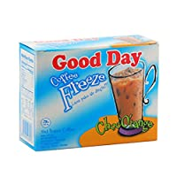 Good$ Day グッドデイフリーズチョコオレンジコーヒー150グラム(5.29オンス)インスタントコーヒー5-ct 30グラム(10パック)@